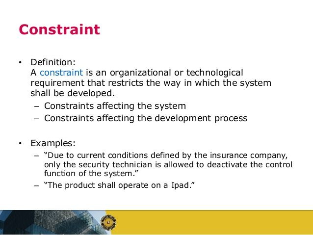 Constraint Definition Google Search Definitions Technician Organizational