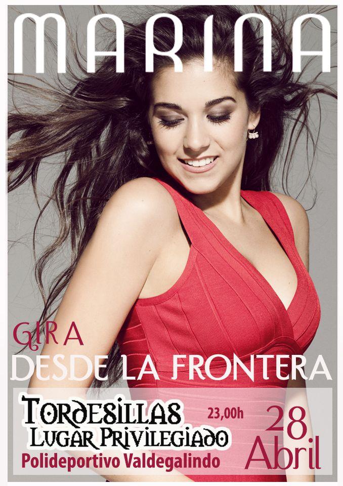 """Marina Garcia Herrera/Club de Fan/ Oficial - Marina Gira 2017 """"Desde la frontera """" día 28 de abril en Tordesillas (Valladolid)http://marinagarciaherrera.es/marina-gira-2017-desde-la-frontera-dia-28-de-abril-en-tordesillas-valladolid/"""