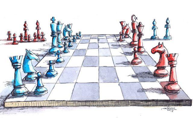 Σκάκι #cartoon  #IaTriDis