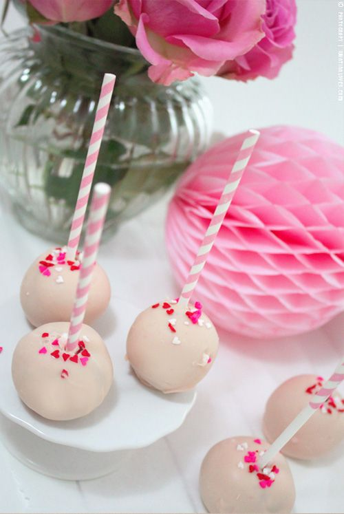...what Ina loves ❤ : How to make Cake Pops {Valetines Day Edition}