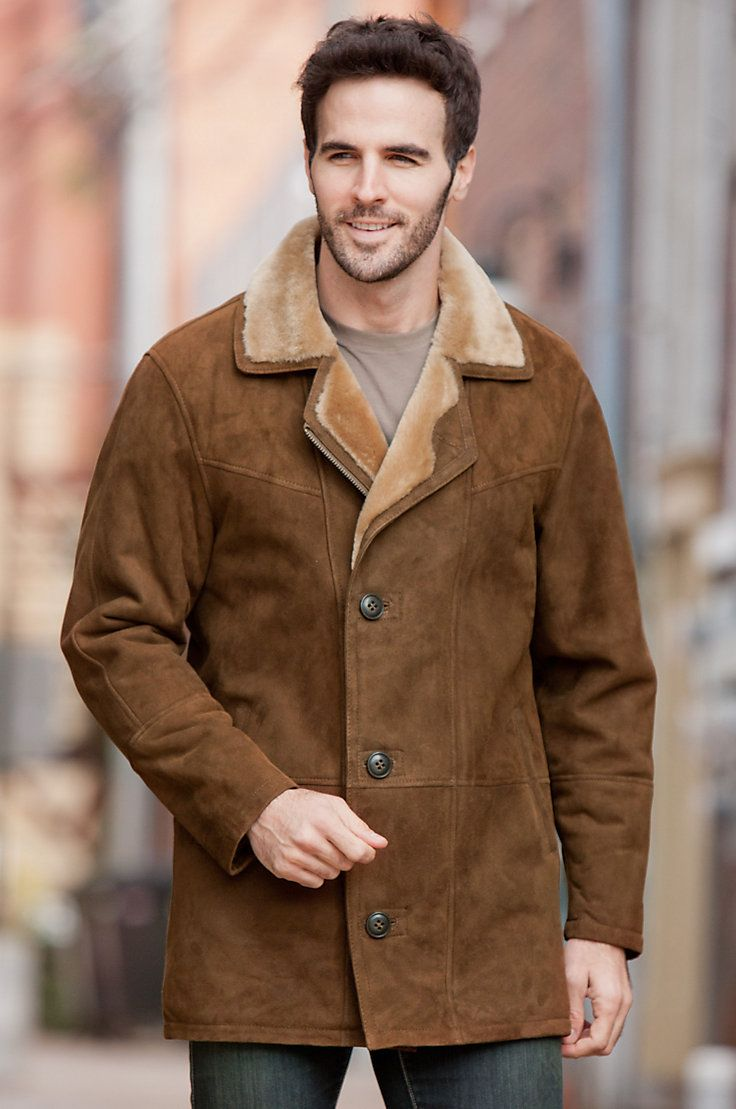 1000  ideas about Sheepskin Coat on Pinterest   Mens shearling