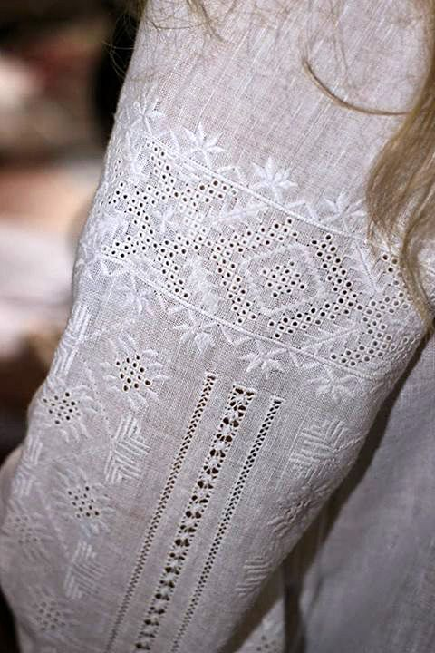 White Embroidery. Ukrainian embroidery ! shirt