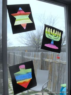 Window Silhouette Craft by Creative Learning Fun