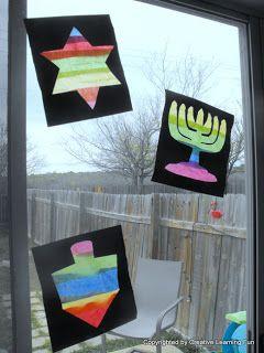 Window Silhouette Craft by Creative Learning Fun