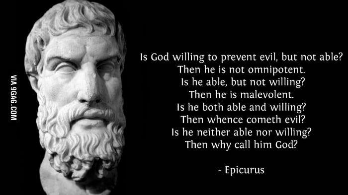 Ancient Greek Philosopher Epicurus On God Atheist Quotes Famous Atheists Ancient Greek Philosophers