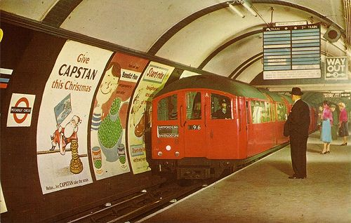 Picadilly Circus Station - 1970