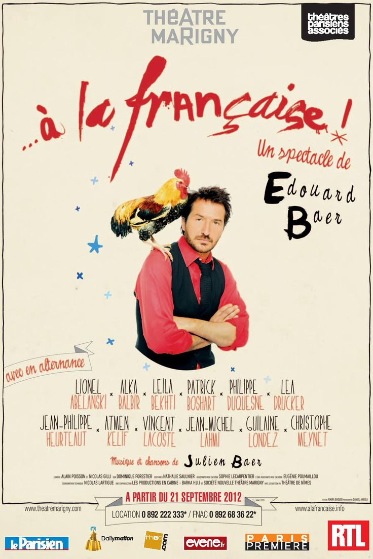 Le 30/11/12 au théâtre Marigny