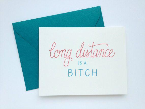 Long Distance is a Btch. Long Distance Love by ChristinaMalta