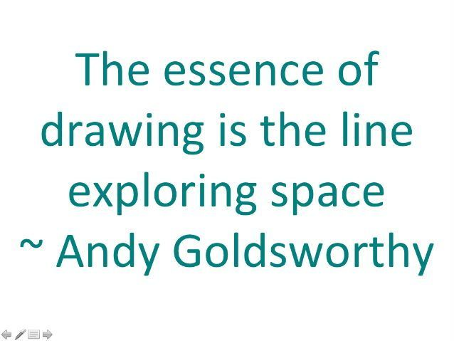 Quotes about drawing by different artists for art room display or discussion