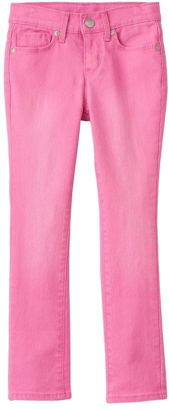 SONOMA Goods for Life Girls 4-7 SONOMA Goods for LifeTM Pink Skinny Jeans