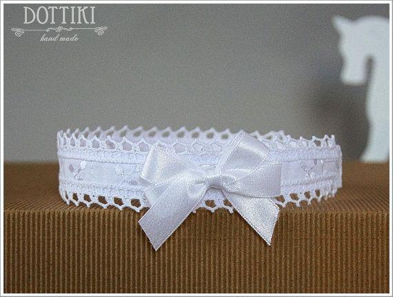 Baby's  Headband  Girl's Headband  Headband  White