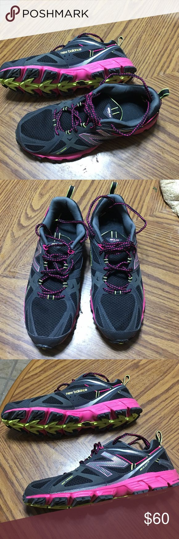 Women New Balance 610 v3  Running Shoes Size 10.5 Women New Balance 610 v3 Trail Running Shoes Size 10.5 Great shape as you can see on the pictures, worn for a special occasion only.   WT610BP3 New Balance Shoes Athletic Shoes