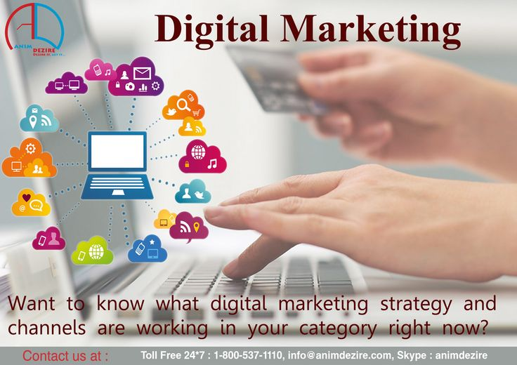Want to know digital marketing strategies, Feel free contact for best services.