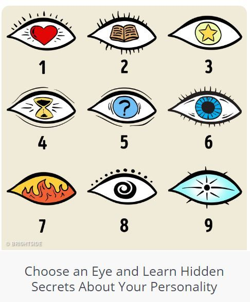Quiz: Choose an Eye and Learn Hidden Secrets About Your