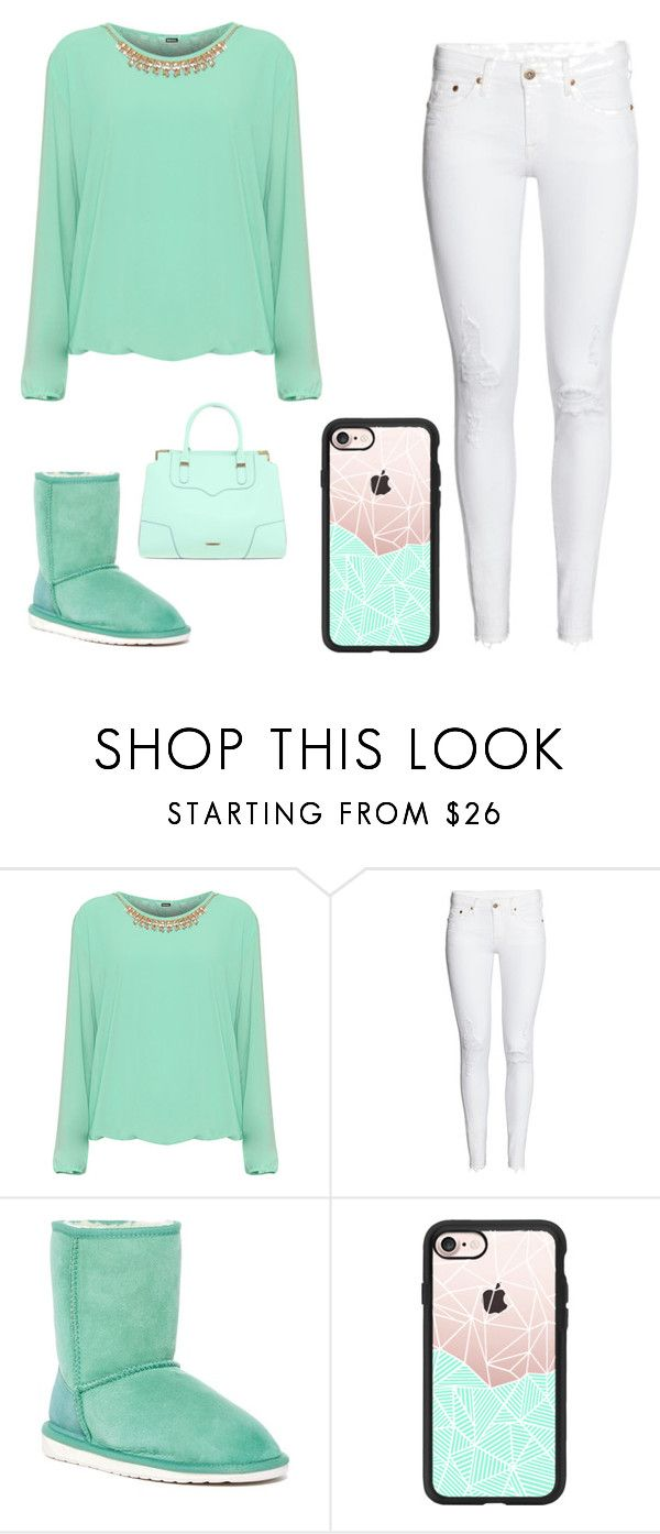 """Minty Monday"" by kaylee-holmes ❤ liked on Polyvore featuring WearAll, EMU Australia, Casetify, Rebecca Minkoff and plus size clothing"