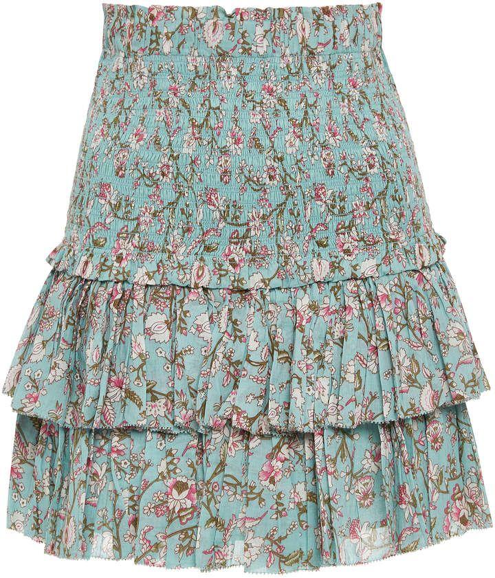 2e48deb8ad8e7 Isabel Marant Étoile Naomi Ruffle Mini Skirt   Women's Fashion in ...