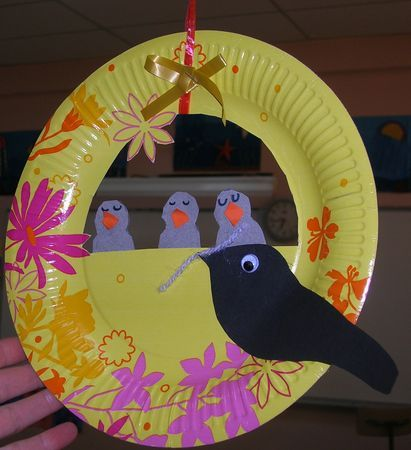 249 best basteln mit kindern images on pinterest craft for Baby bird nest craft