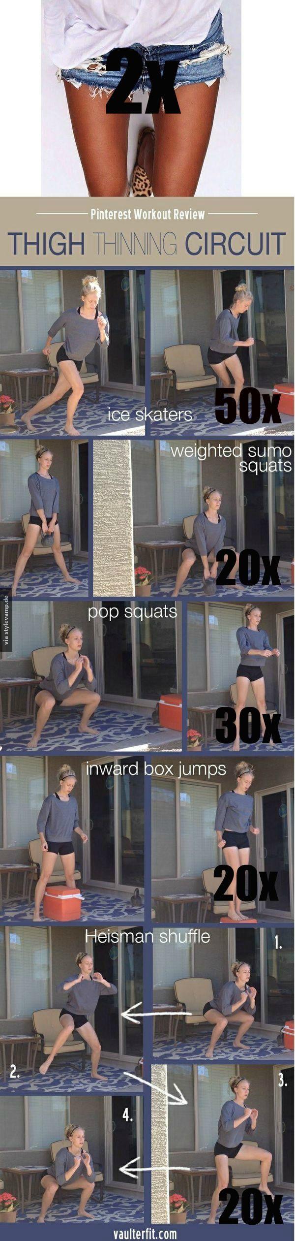 amazing thigh thinning workout!