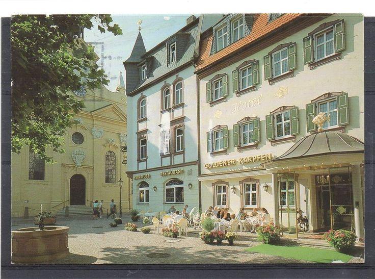 Fancy Romantic Hotel Restaurant Goldener Karpfen Mailed to NANTWICH