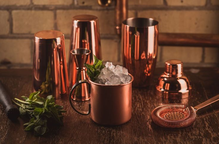 Copper Cocktail Collection