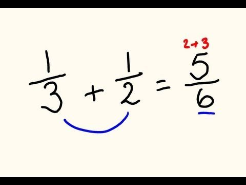 Forget finding common denominators when adding dissimilar fractions - this way is much faster and easier. This video also looks at how to deal with mixed numbers and simplification.