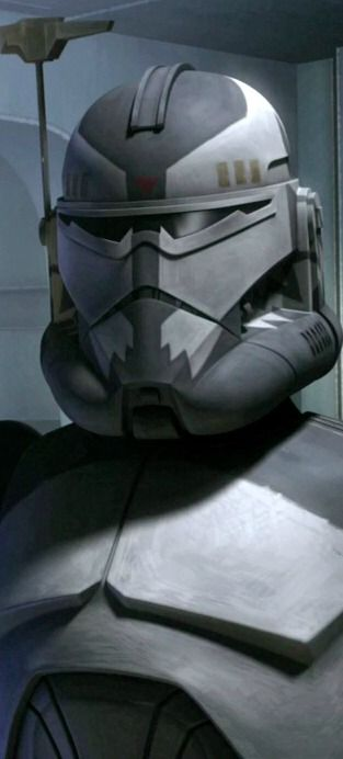 Clone Commander Wolffe! Love this clone and it looks like he's coming back in Rebels!