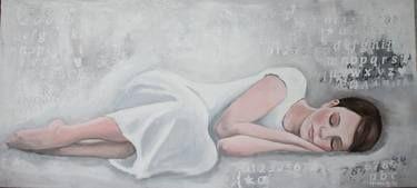 "Saatchi Art Artist Monika Holte; Painting, ""Follow your dreams"" #art"