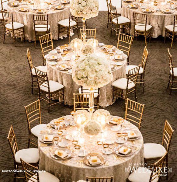 White Wedding And Gold Chiavari Chairs BABC Concepts