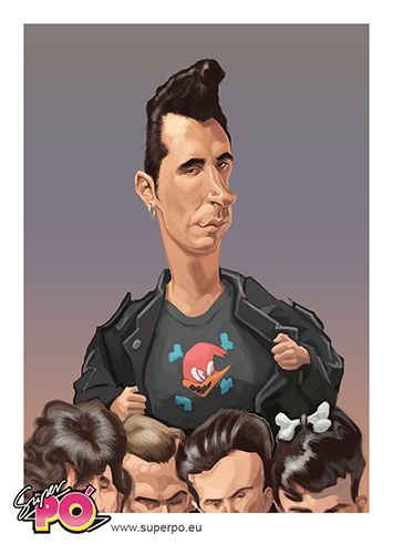 SUPERPO. Loquillo y los Trogloditas  caricature by Carlos  Carcoma. All Rights Reserved. #Popcaricature #Musiccaricature #fan caricature #superpo  Caricatura por Carlos  Carcoma. Todos los derechos reservados #Popcaricature #Musiccaricature #fan caricature #superpo #caricaturapop #caricatura80 #80s #movida #caricaturamovida  #loquillo #lokilloytrogloditas #loquillocaricature #caricaturaloquillol