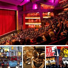 Book #theatre tickets for hen and stag parties, in the West End and across the UK