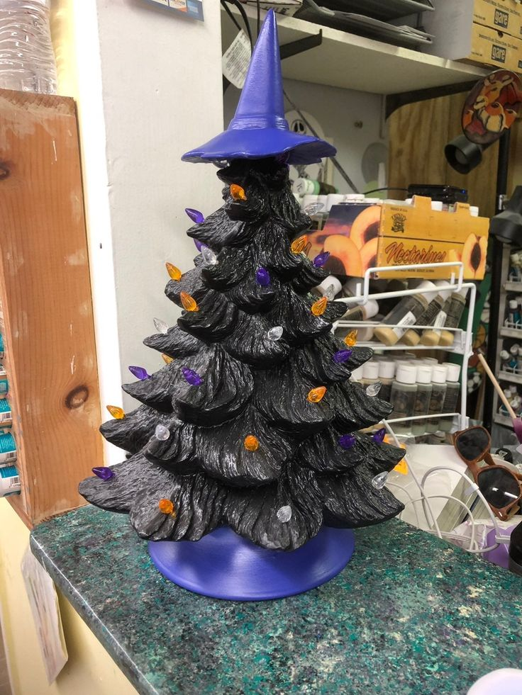 Halloween Ceramic Tree in 2020 (With images) Tree