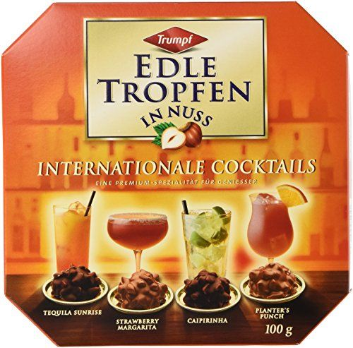Authentic Trumpf Edle Tropfen in Nuss International Cocktails 100 g, ,