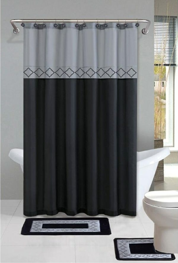Best New Trailer Images On Pinterest Shower Curtains Black - Bathroom shower curtains and matching accessories for bathroom decor ideas