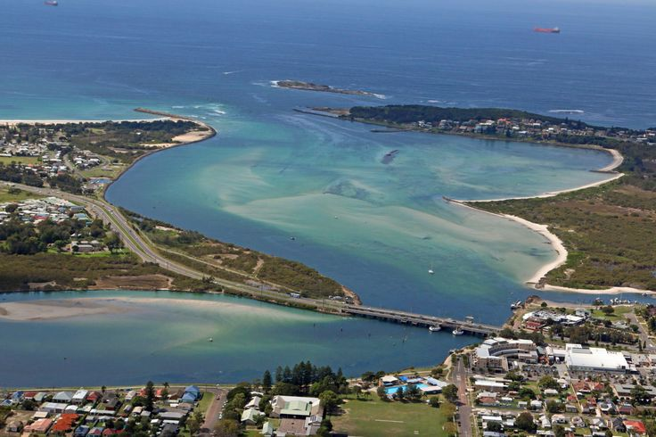 Swansea Channel, Lake Macquarie, NSW, Australia