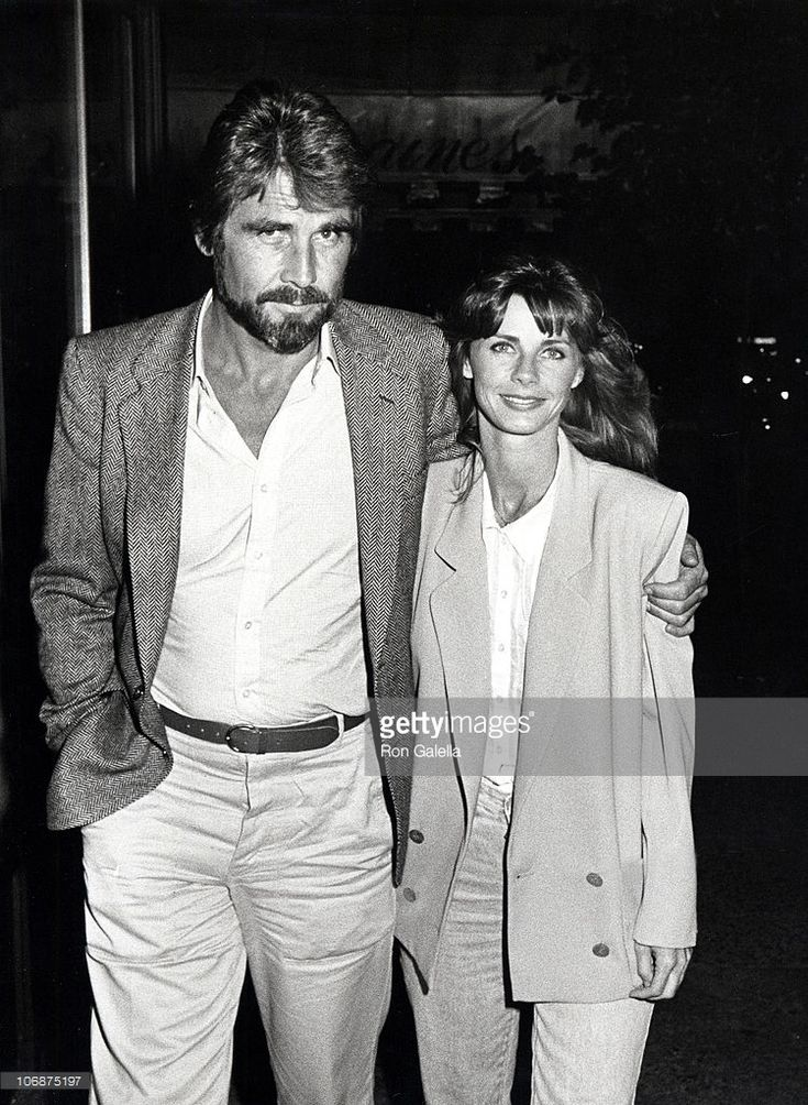 James Brolin and Jan Smithers during James Brolin and Jan Smithers at Elaine's Restaurant in New York City - September 9, 1984 at Elaine's Restaurant in New York City, New York, United States.
