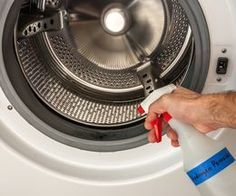 how to clean top load washing machine mold