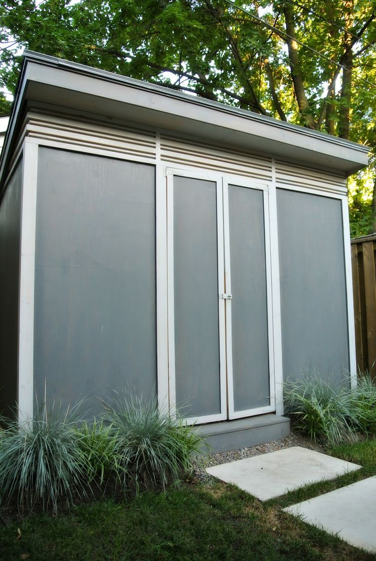 our modern shed