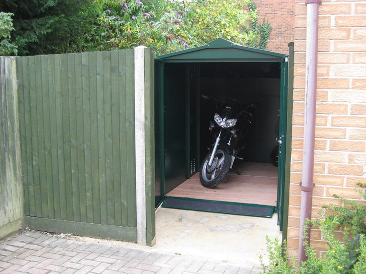 Locksmiths approved motorcycle garage - store your motorcycle with Asgard