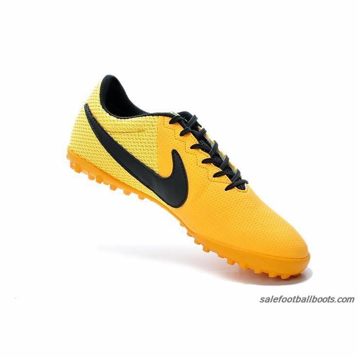Toucher Pro Classique Tf - Chaussures De Football Noir / Orange / Blanc Taille: 44 OvSCa