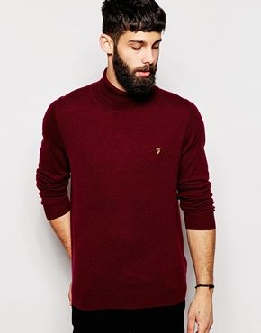 Farah Jumper with Roll Neck