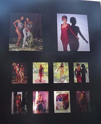 1990s Faris Lingerie Catalog orig artist proof slide photos models sexy