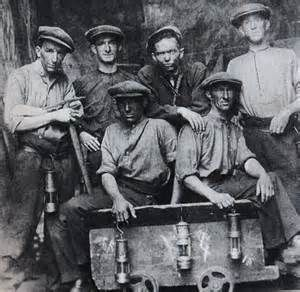 Welsh miners from the Rhondda Fach (literally little/small Rhondda).
