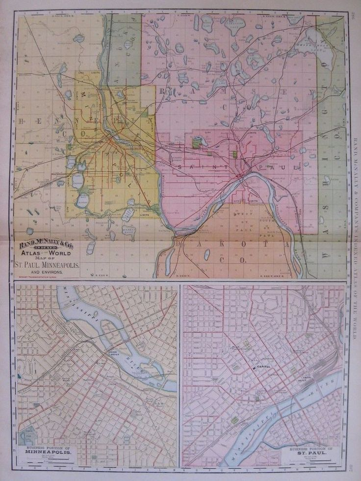 Houston Judgemental Map%0A      Antique St Paul  u     Minneapolis Map Rare Poster Print Size Map