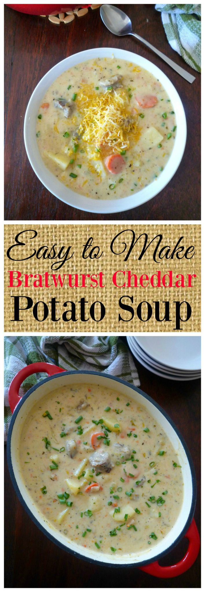 One of the things I love about fall and winter is the endless variety of soups is, not only do they taste fantasticbut warm mybelly and soul on a chilly Fall day. Bratwurst Cheddar Potato Soup is…