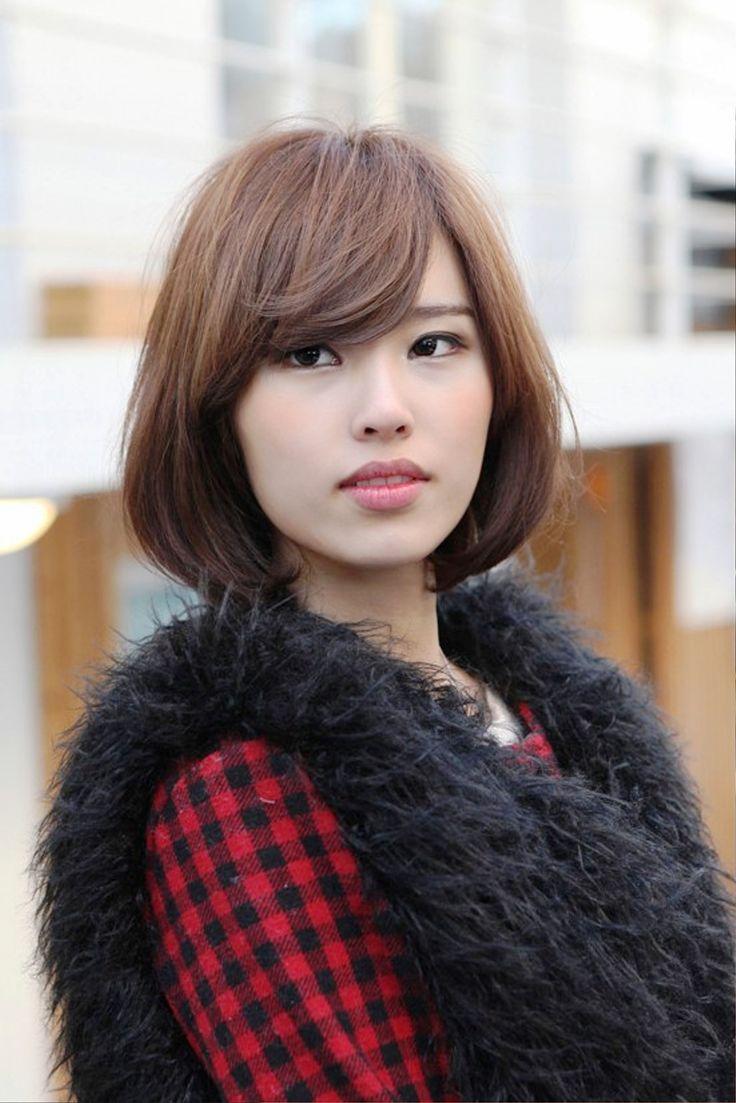 прически для азиатского типа лица фото можно