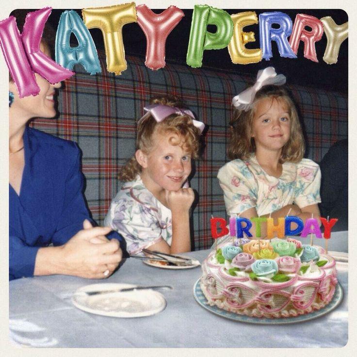Katy Perry Birthday cover art