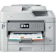 Las últimas novedades en impresoras Brother multifunción. Infórmate en tu tienda Dns System (Tfno.914273801), www.dns-system.es  MFC-J5930DW Multifunción de tinta profesional A4, WiFi, fax, impresión hasta A3, PCL6 y Br-Script 3, doble bandeja, doble cara A4 en todas las funciones y cartuchos XL incluidos  Impresora A3 | Copiadora A4 | Escáner A4 | Fax A4  2 bandejas de 250 hojas hasta A3 - Conexión móvil/Cloud - Pantalla táctil 9,3cm - ADF 50 hojas A4 dúplex