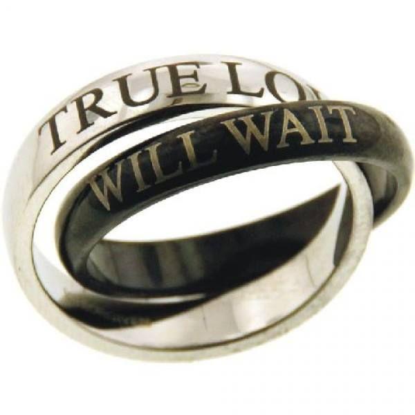 True Love will wait rings