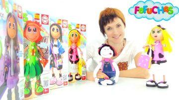 Видео для девочек. Играем в магазин и делаем куклу Фофуча Хлоя. Что подарить на 8 марта? http://video-kid.com/17598-video-dlja-devochek-igraem-v-magazin-i-delaem-kuklu-fofucha-hloja-chto-podarit-na-8-marta.html  Видео для детей о том, как сделать подарок для девочки на 8 марта. У Маши есть много лучших подружек. А что можно подарить девочке на 8 марта? Чтобы это выяснить Маша (ведущая канала Капуки Кануки) и кукла Маша (Машина кукла) отправляются в игрушечный магазин! Мы играем в магазин…