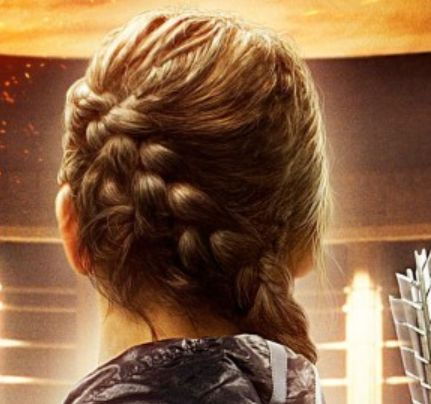 Katniss's hair in HG...really wish I had long/thick enough hair to do this!!